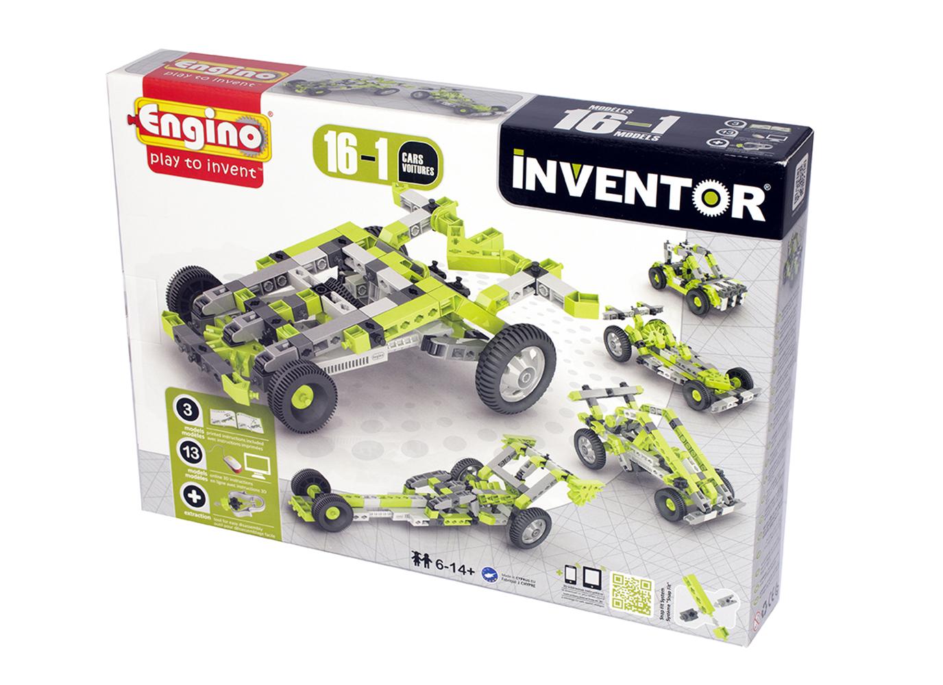 Inventor 16 Modèles Voitures