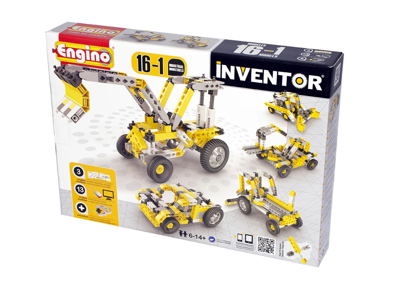 Inventor16 Modèles Industriel