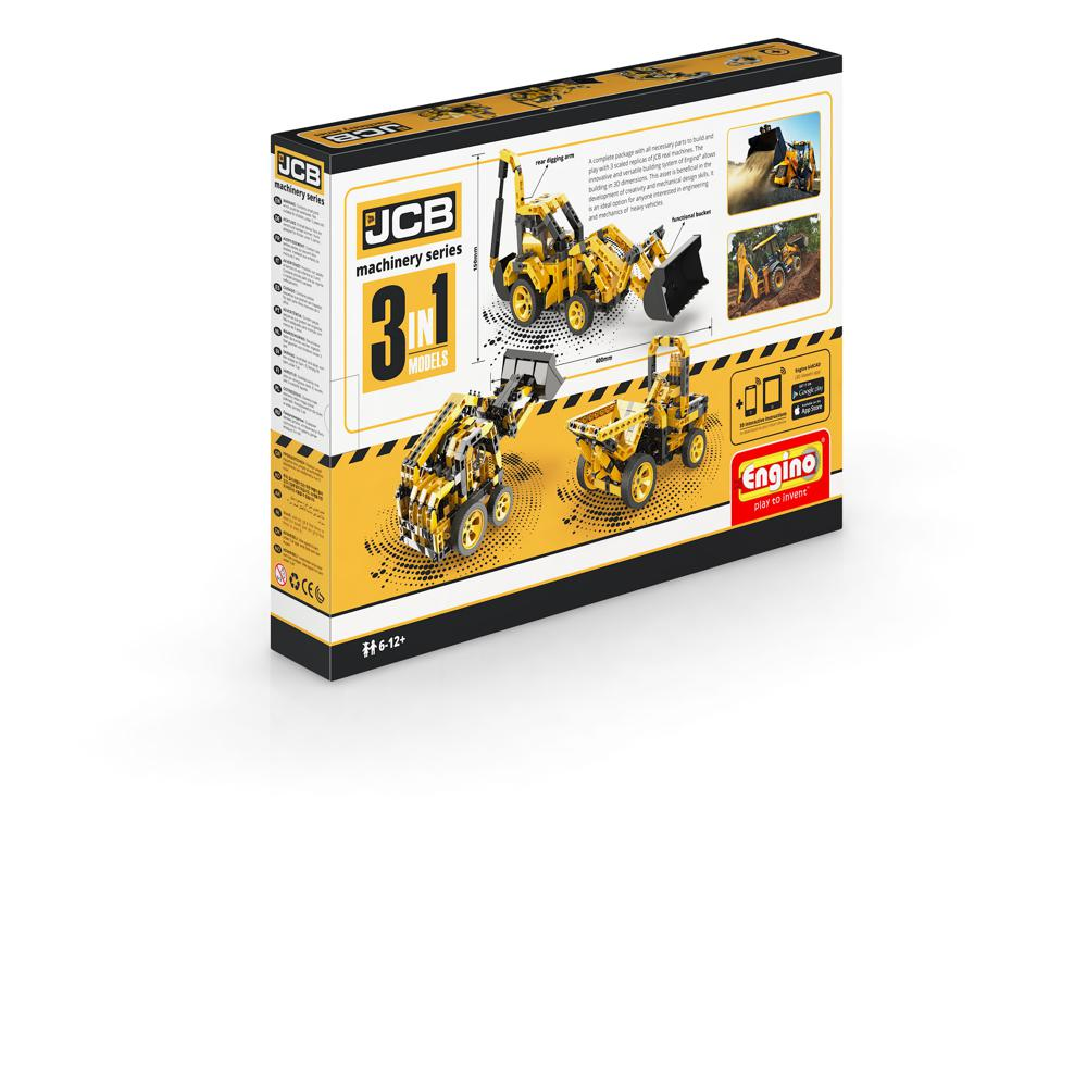 JCB Construction Series Tractopelle
