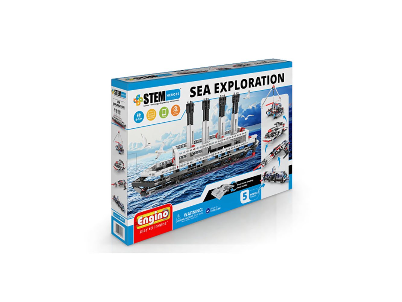 Stem Heroes - Exploration de la mer