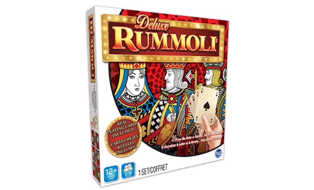 Jeu Rummoli Deluxe Avec Tapis de Jeu