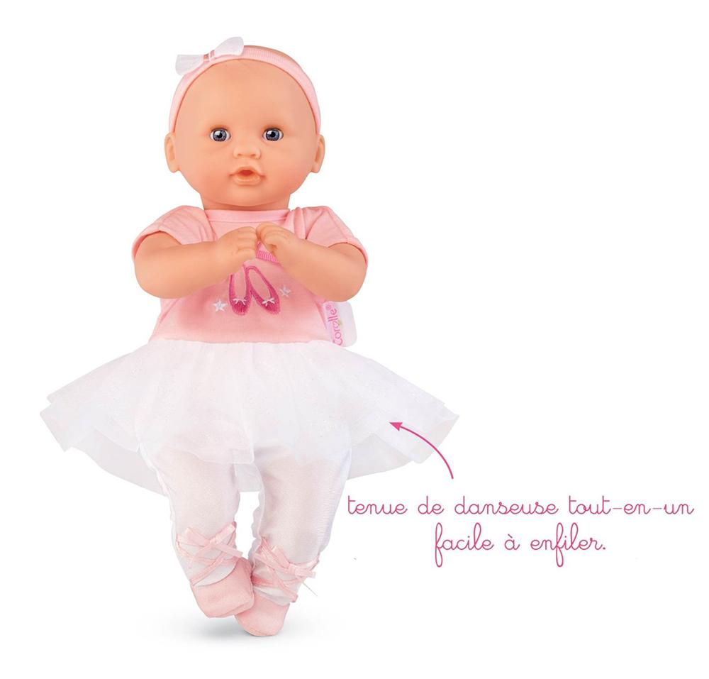 Petit Poupon - Bébé Calin Ballerine 30cm