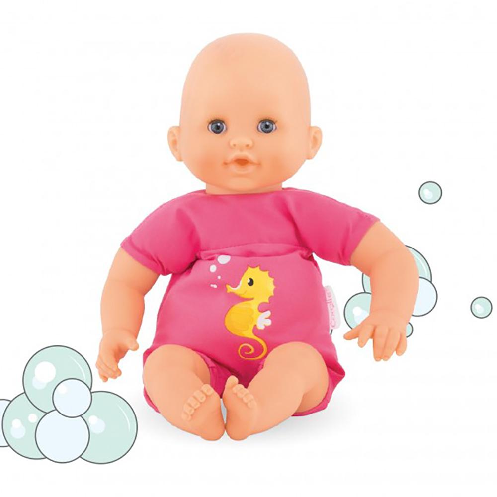 Bébé Bain plouf 30 cm - Fushia