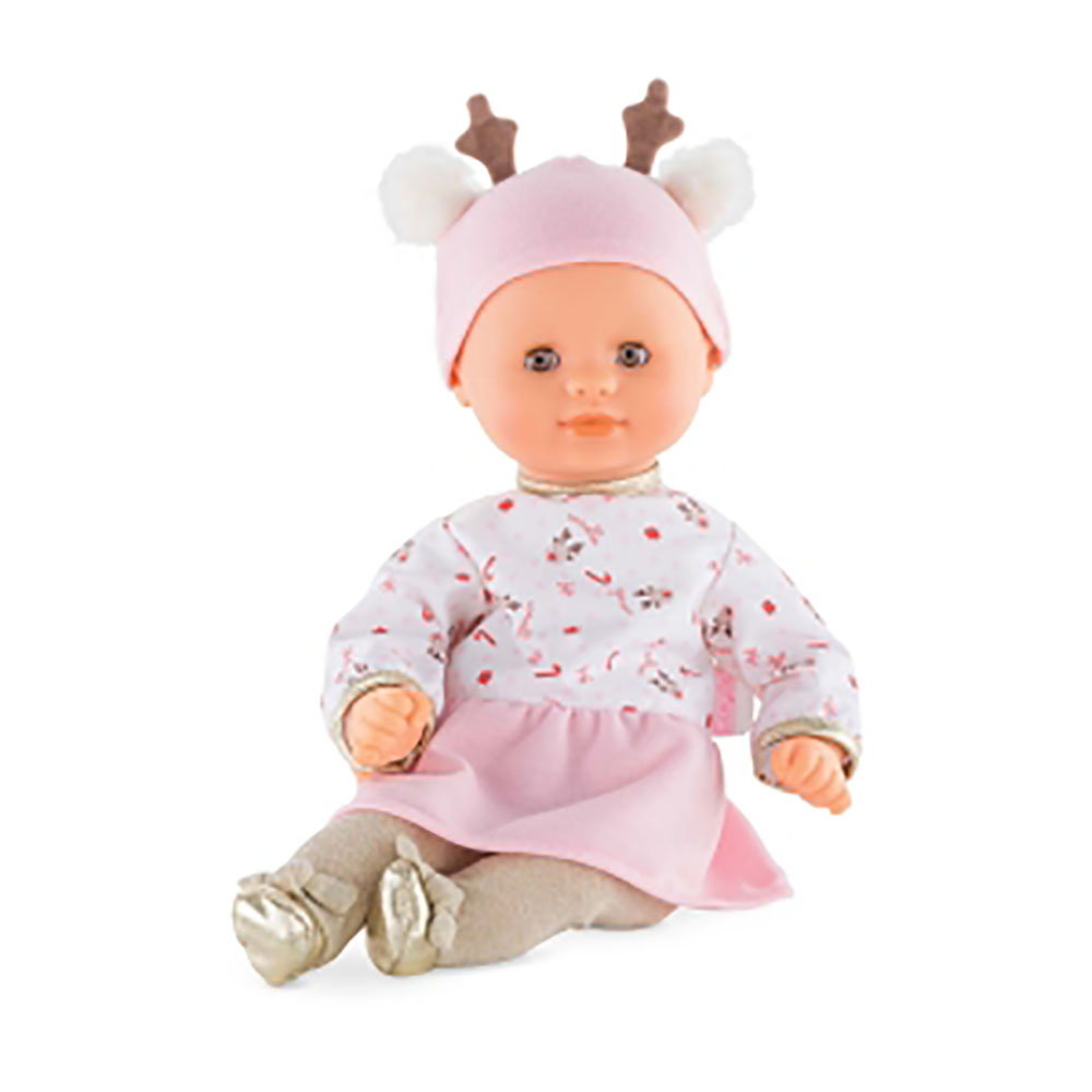 Petit Poupon - Bébé Calin Renne 30 cm