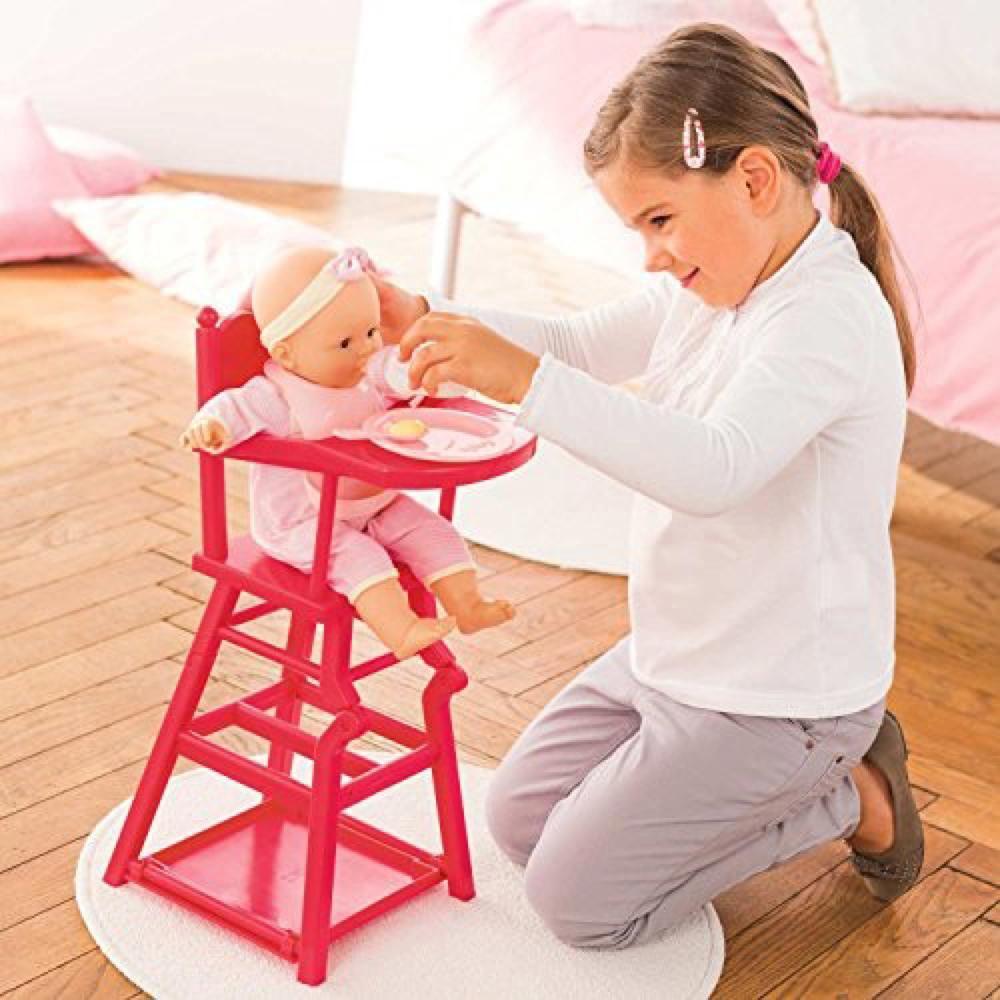 chaise haute classique cerise club jouet achat de jeux et jouets prix club. Black Bedroom Furniture Sets. Home Design Ideas