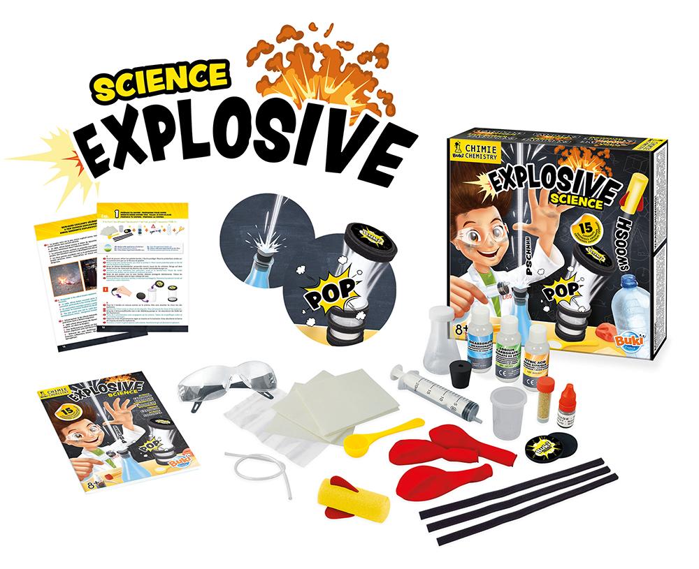 Buki France - Explosive Science