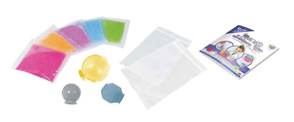 Buki France Mini Lab - Balles rebondissantes