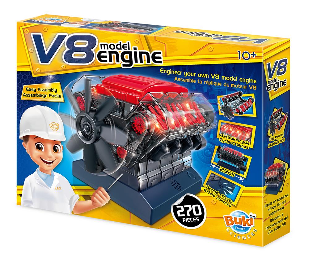 Buki France - Moteur V8