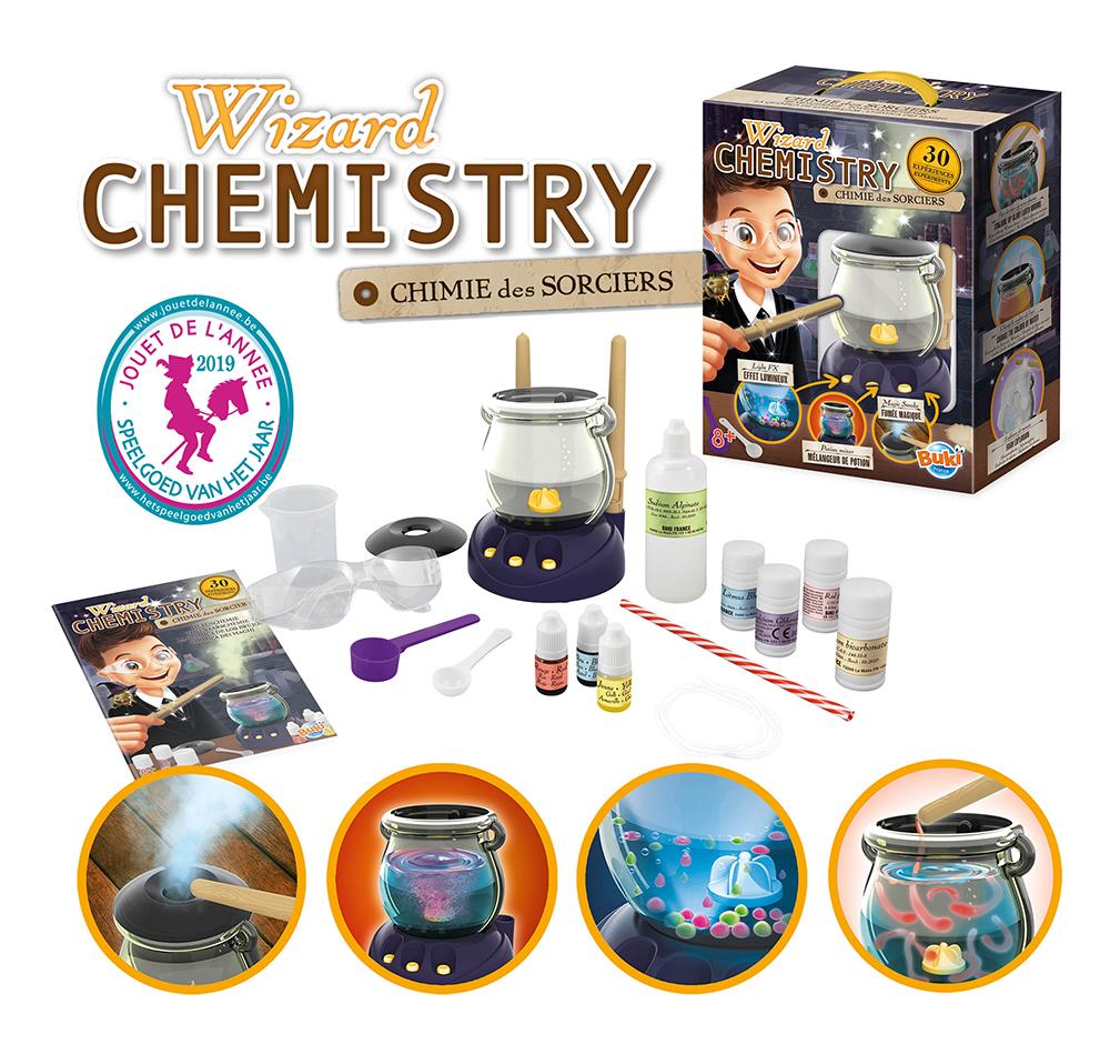 Buki - La chimie des sorciers