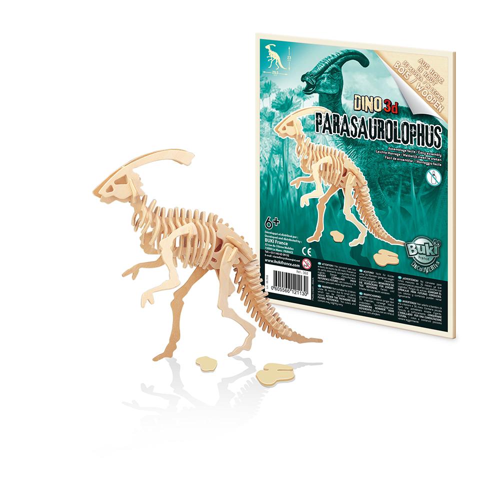 Buki - Dinos 3D à assembler assortis