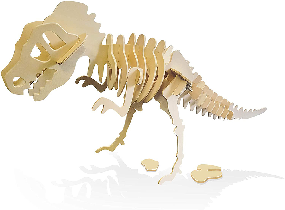 Buki France - Dinos 3D à assembler Mega T-Rex assortis