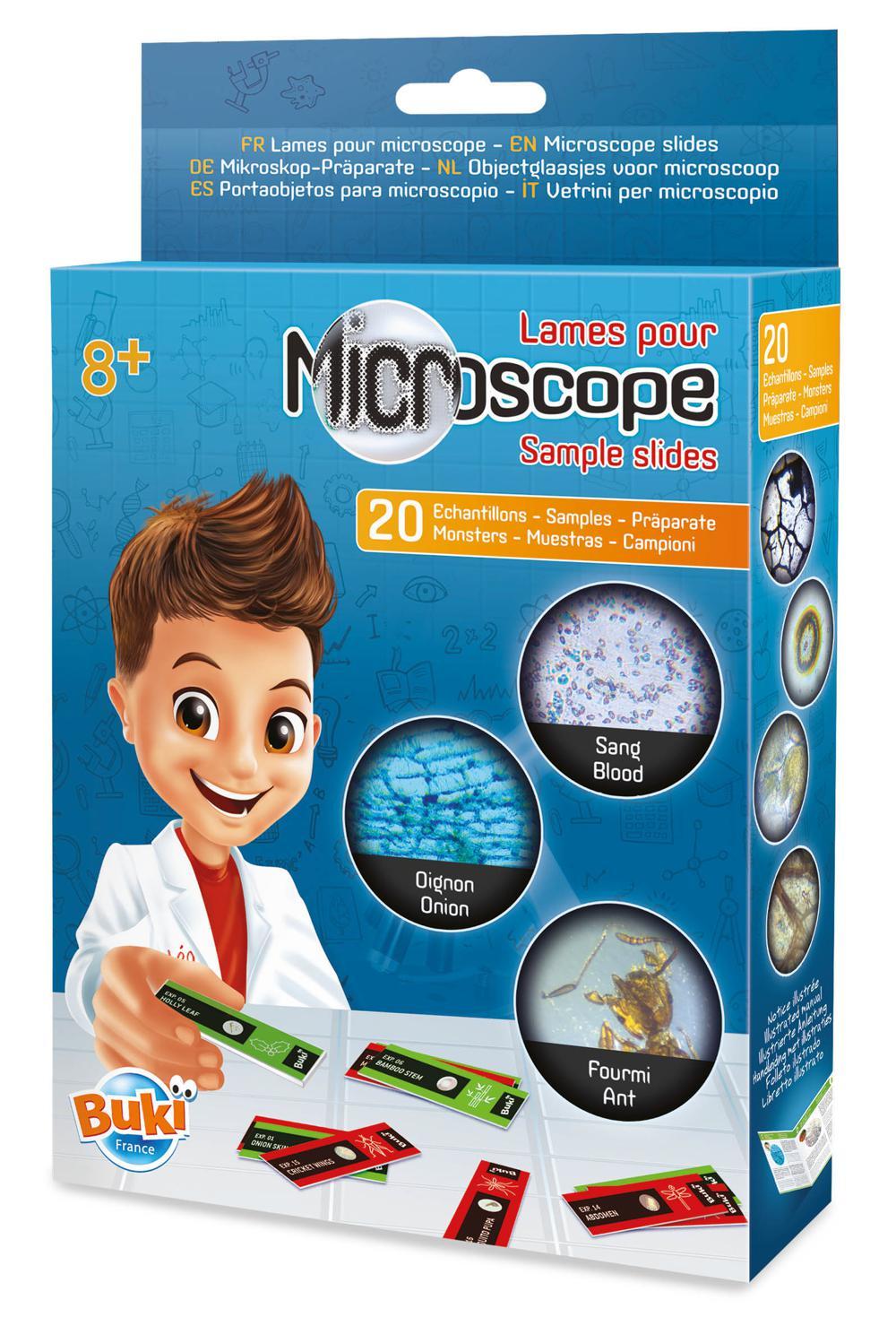Buki France - Lames pour microscope