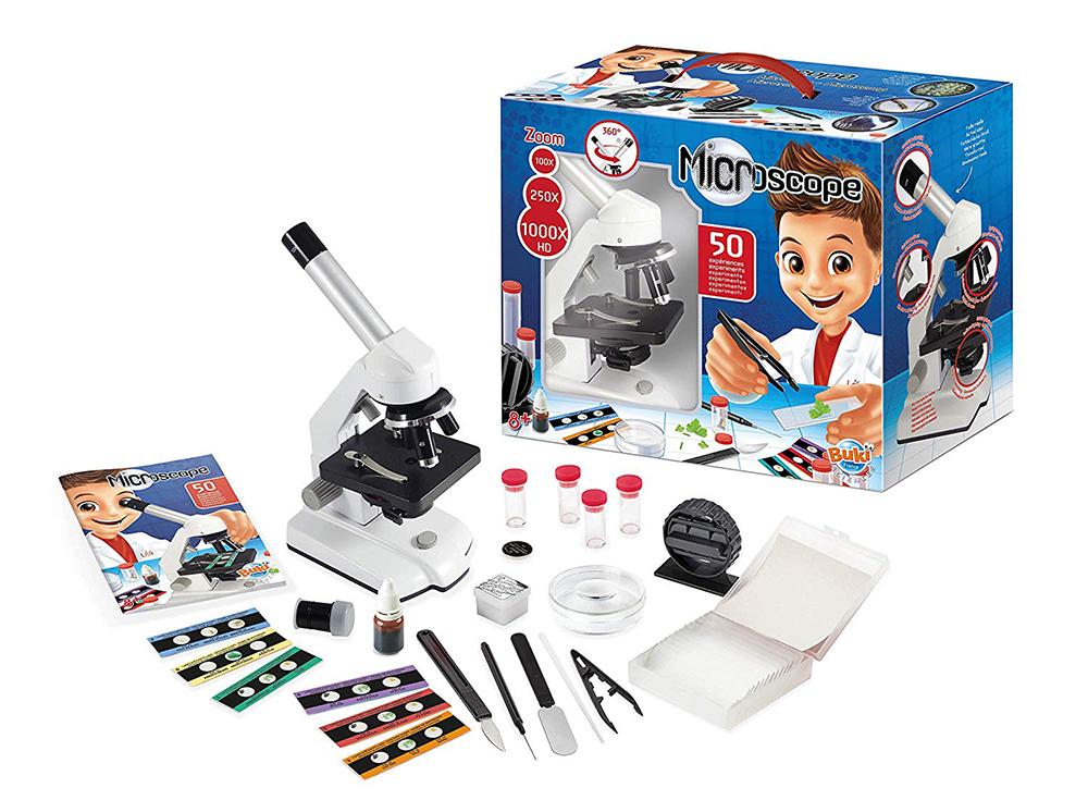 Buki France -  Microscope + 50 Expériences