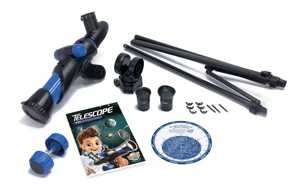 Buki Espace - Télescope & 15 activités