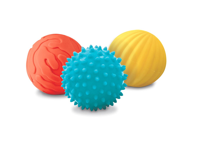 LUDI - 3 balles sensorielles