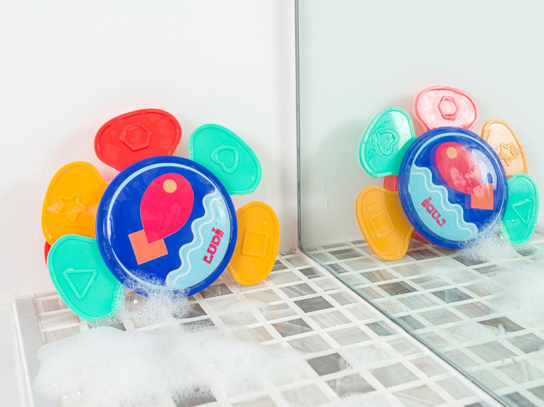LUDI - Fleur à empiler pour le bain