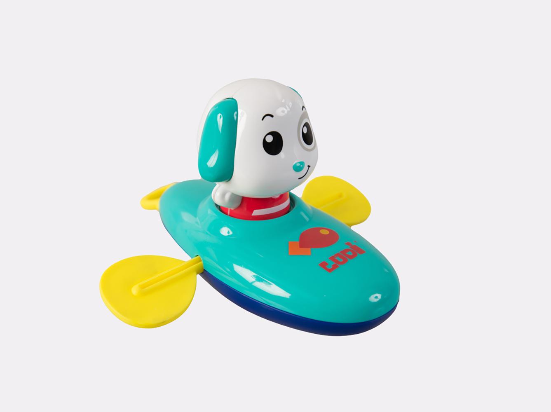LUDI - Chiot en kayak assortis