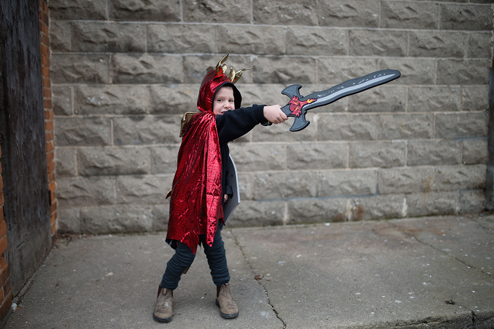 Épée en mousse - Dragon