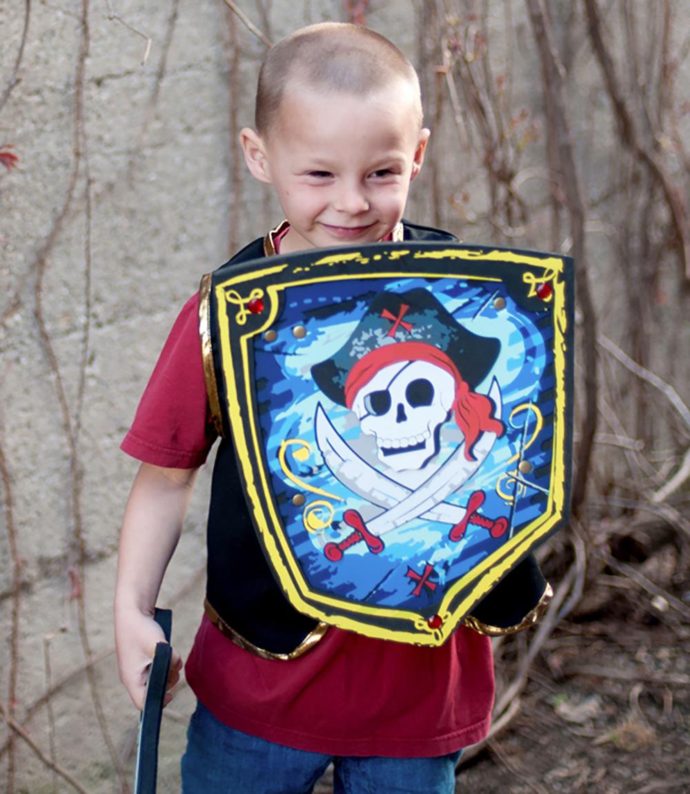 Bouclier de pirate