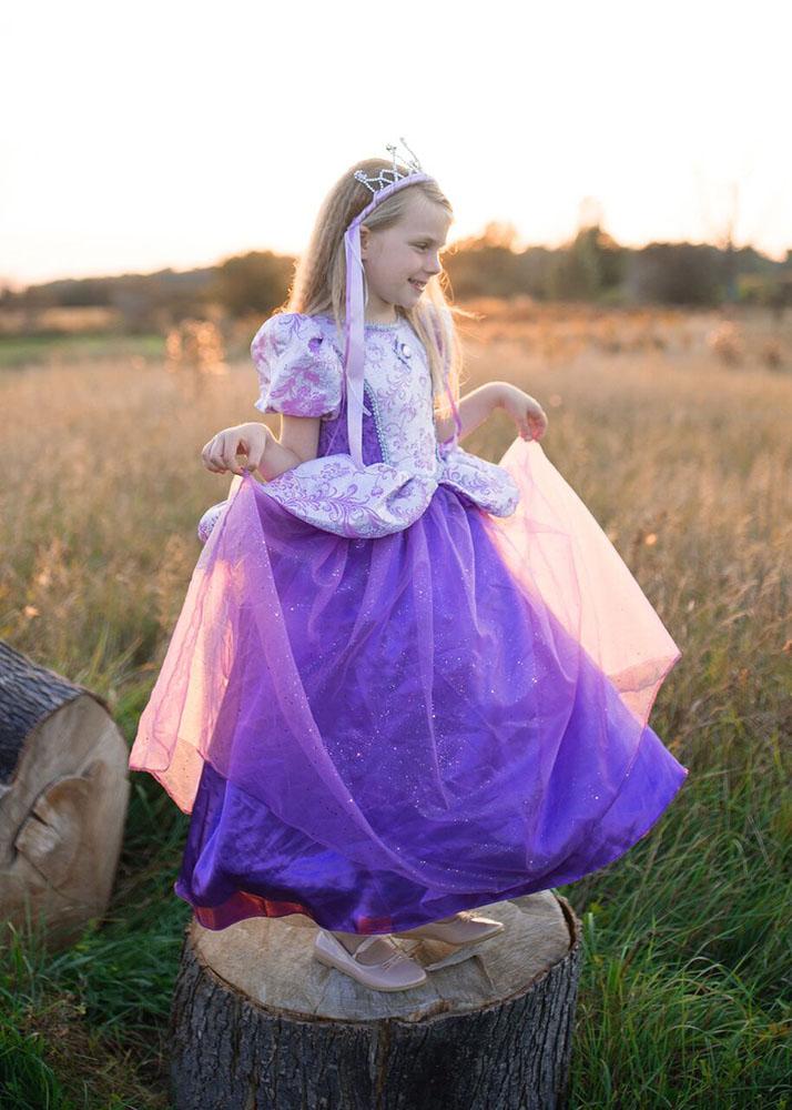 Robe de princesse - Lilas royale 5-6
