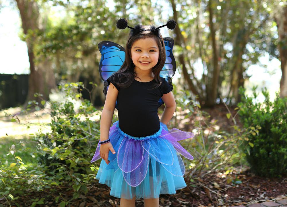 Tutu, ailes et bandeau papillon de nuit