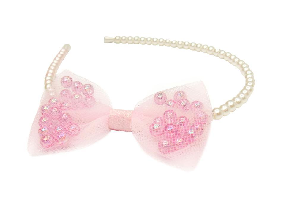 Bandeau à perles avec boucle
