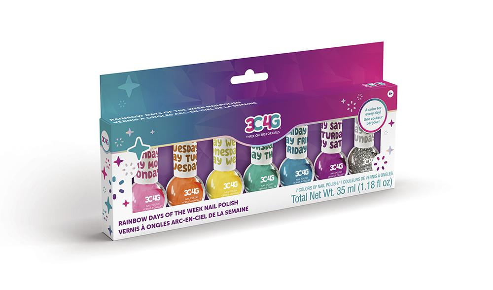 3C4G - Vernis à ongles 7 couleurS