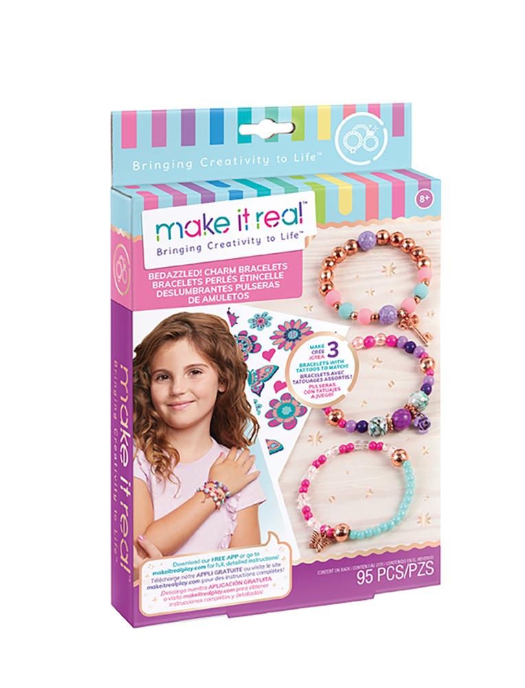 Make it real - Bracelets perlés étincelle-créativité