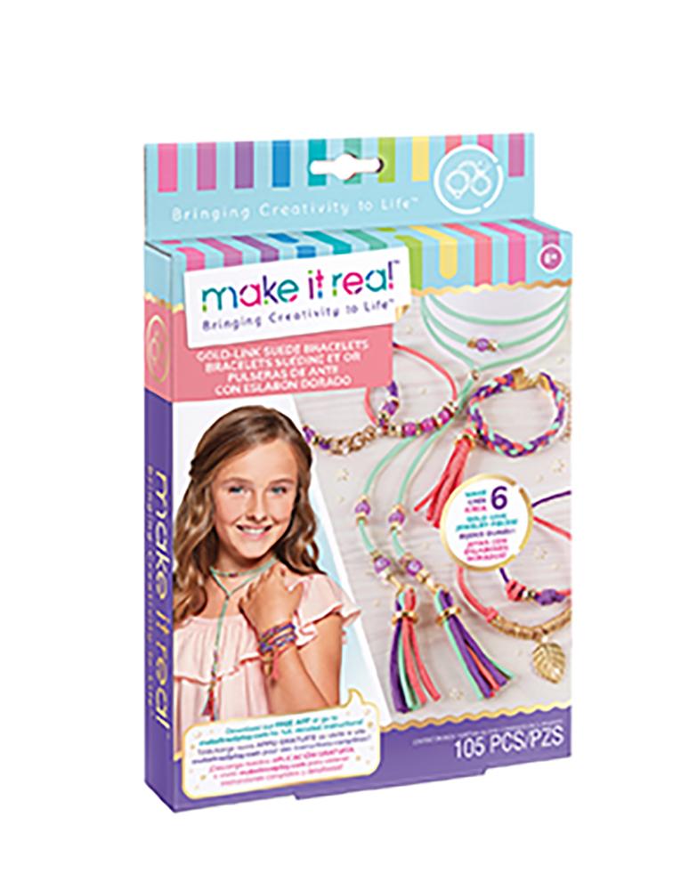 Make it real - Bracelets de faux suède