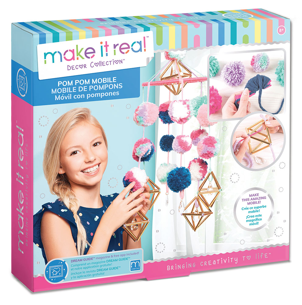 Make it real - Mobile de pompons