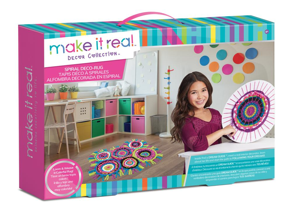 Make it real - Tapis Déco à spirales