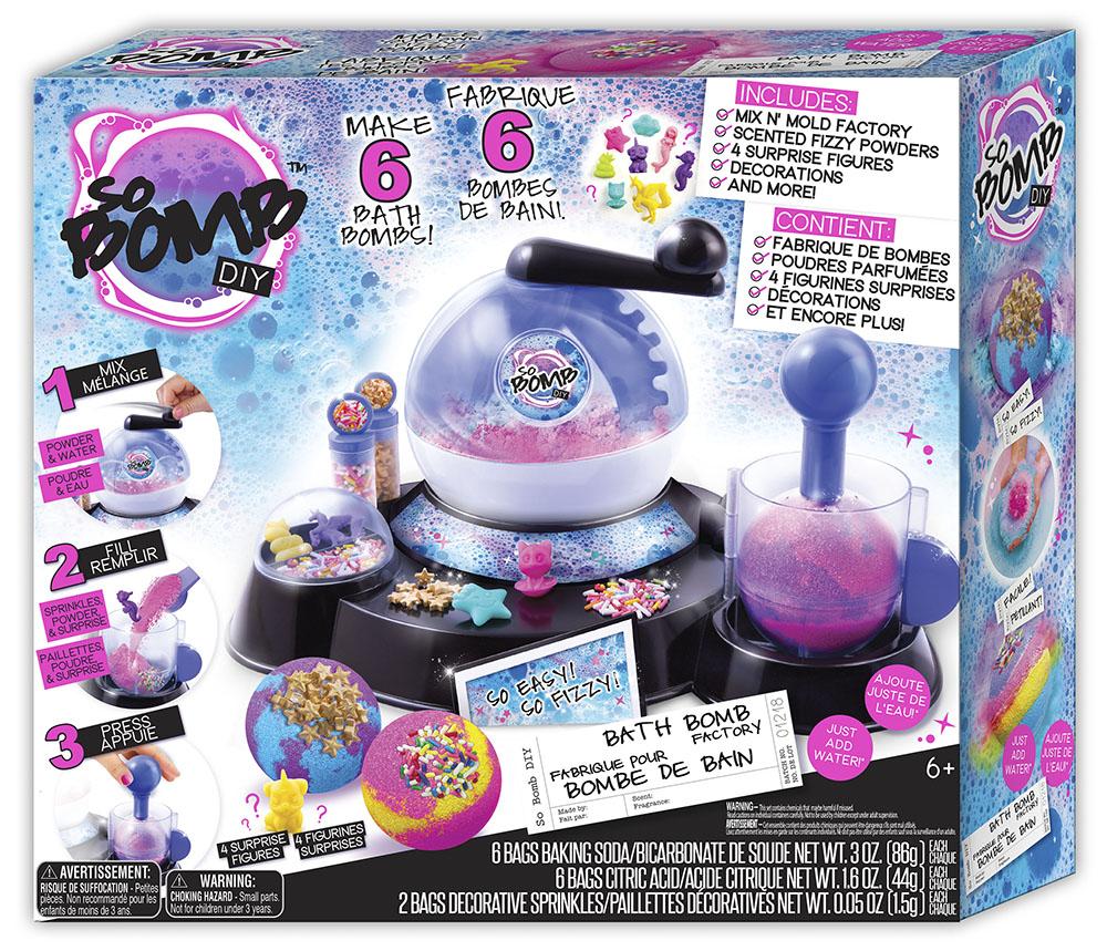 So Bomb Manufacture de boules de bain
