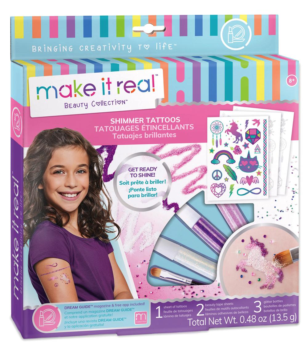 Make it real - Tatouages étincellants