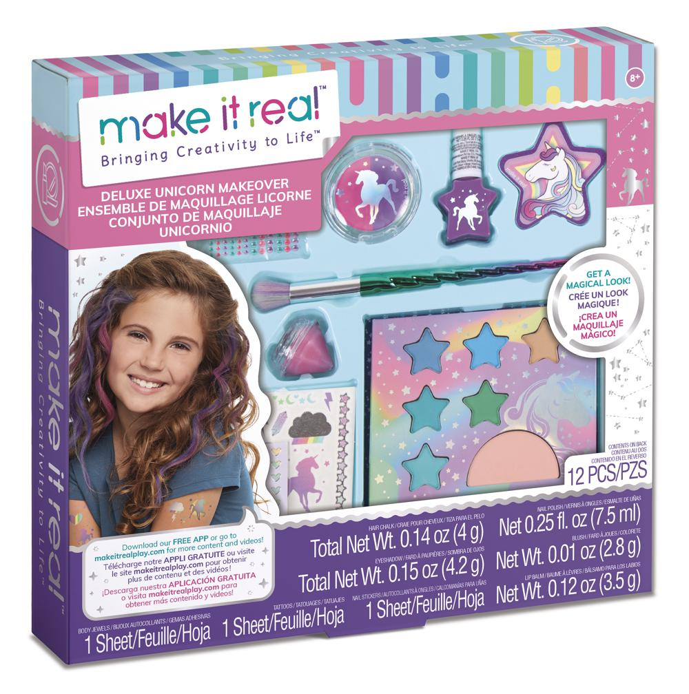 Make it Real - Ensemble de maquillage licorne