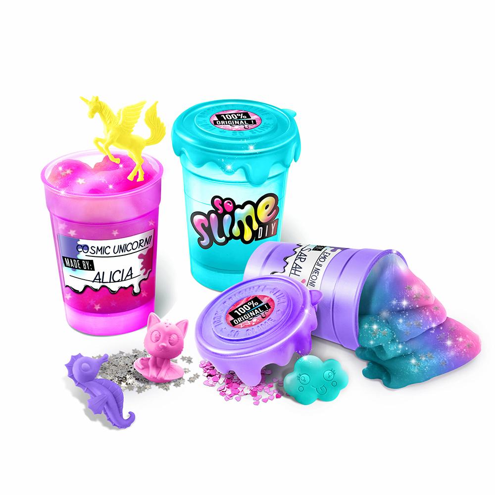 So Slime DIY - Manufacture mauve à glu
