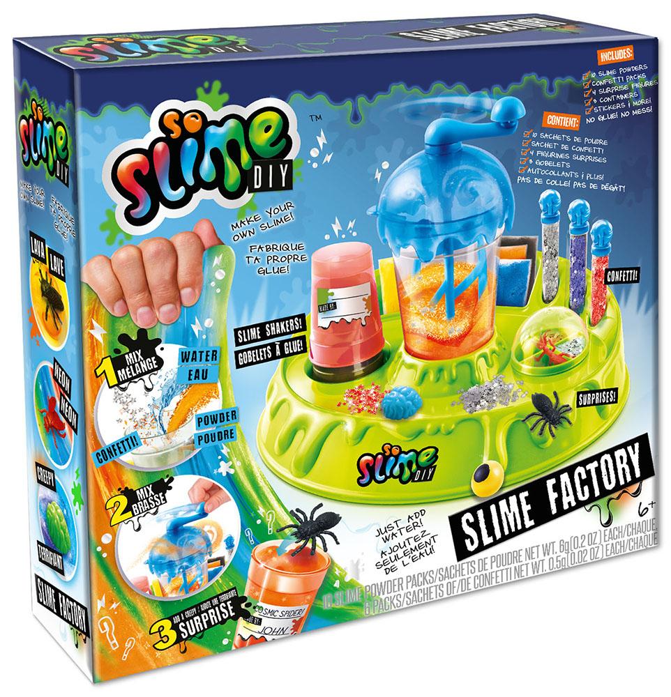 So Slime DIY - Manufacture verte à glu
