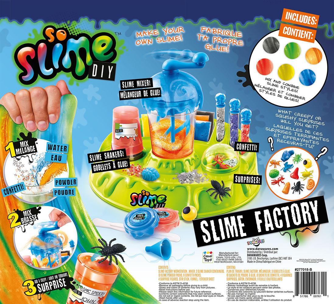 So Slime Manufacture verte à glu
