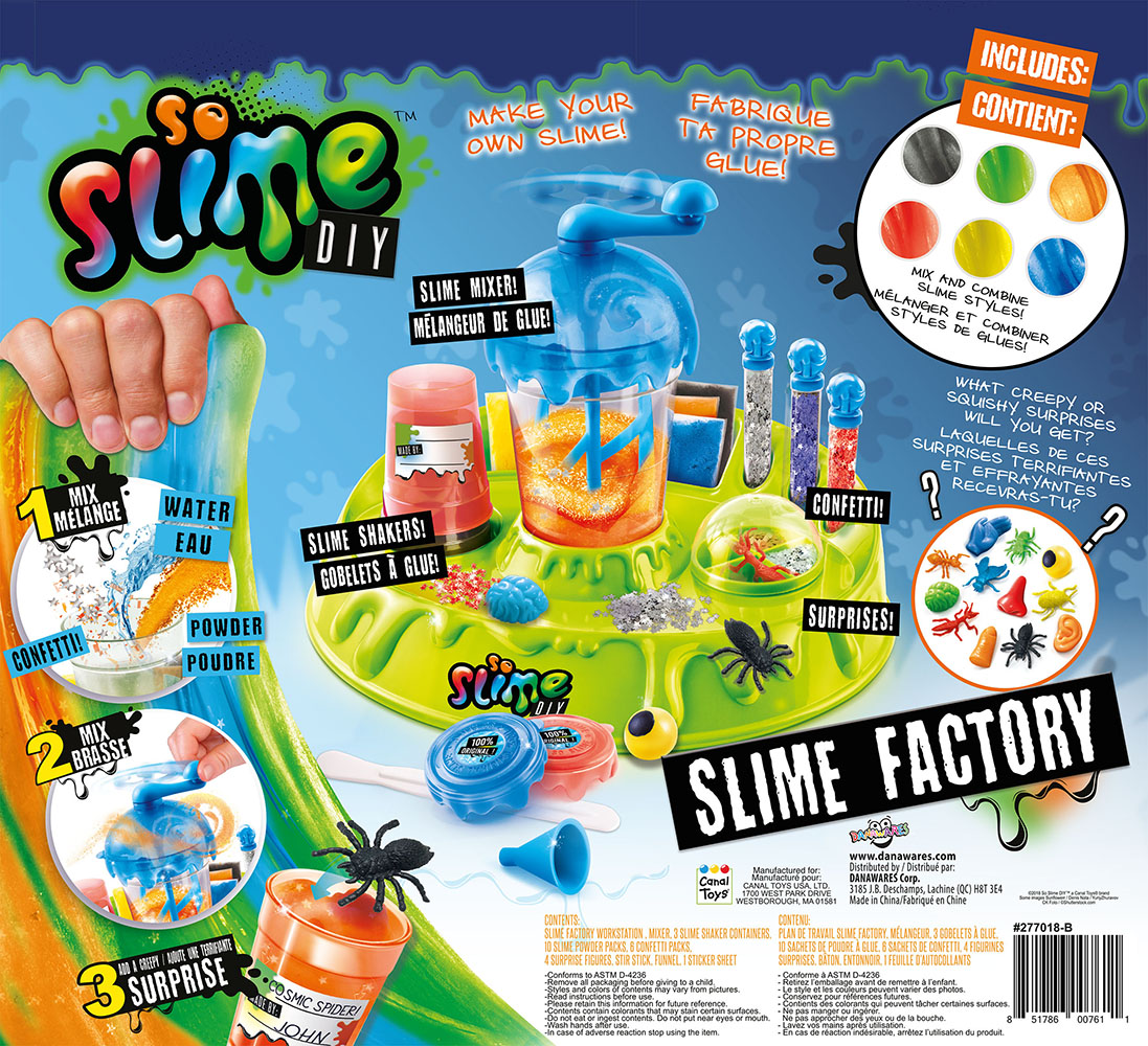 So Slime Manufacture verte à glu