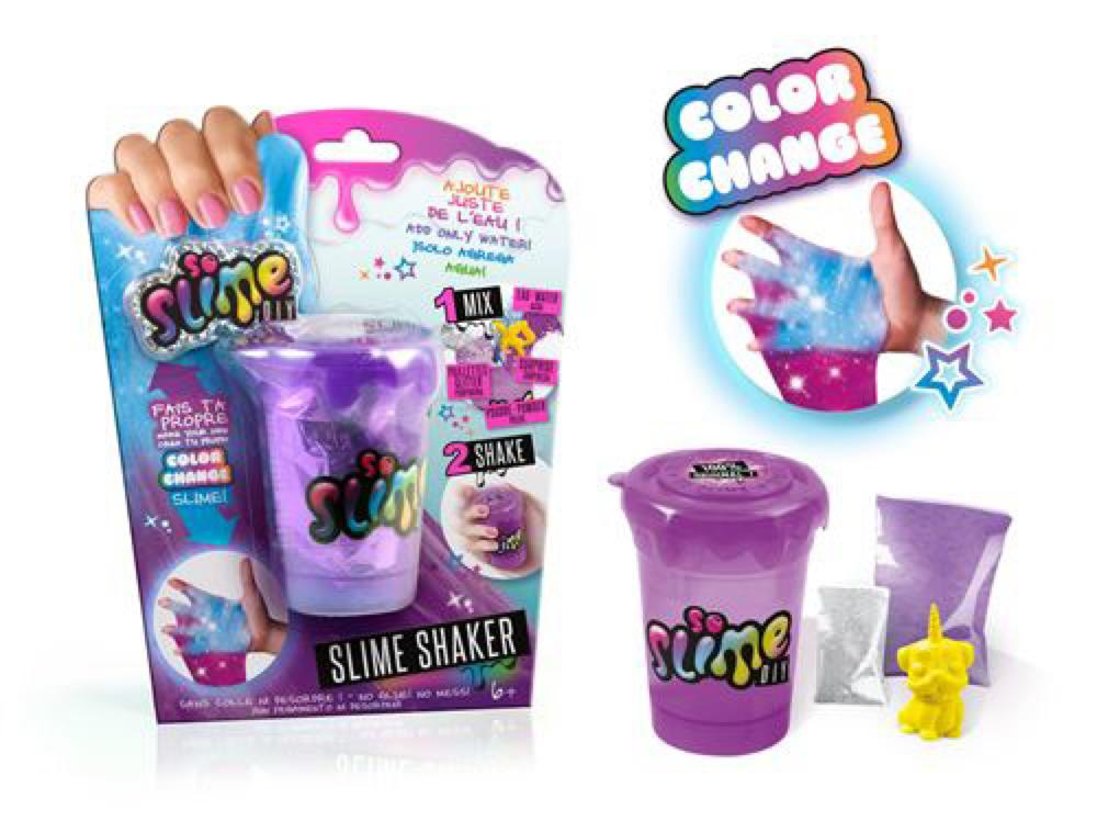 So Slime DIY - Sac glu couleur changeante