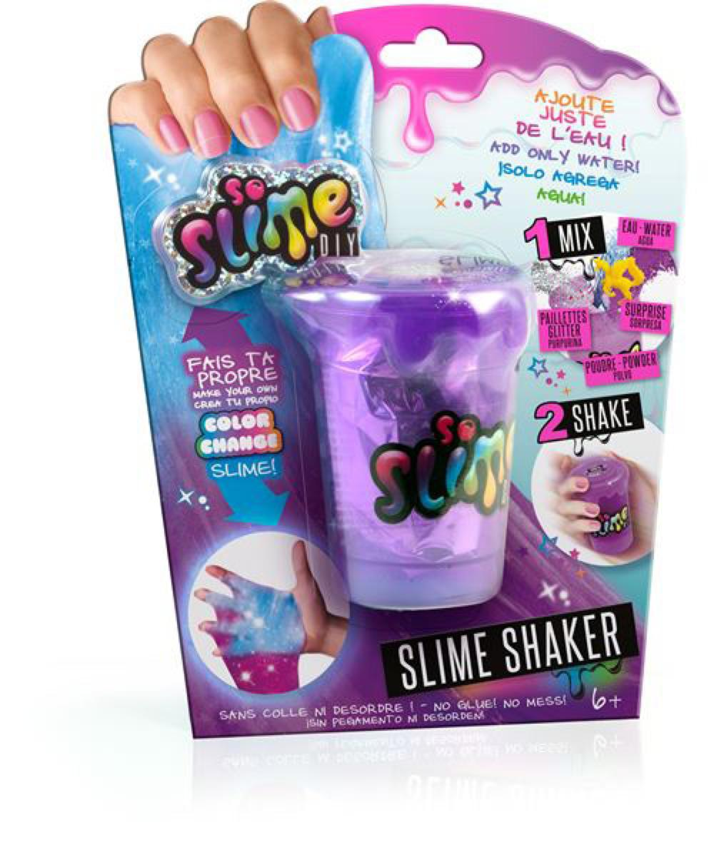 So Slime DIY - Sac glu couleur changeante