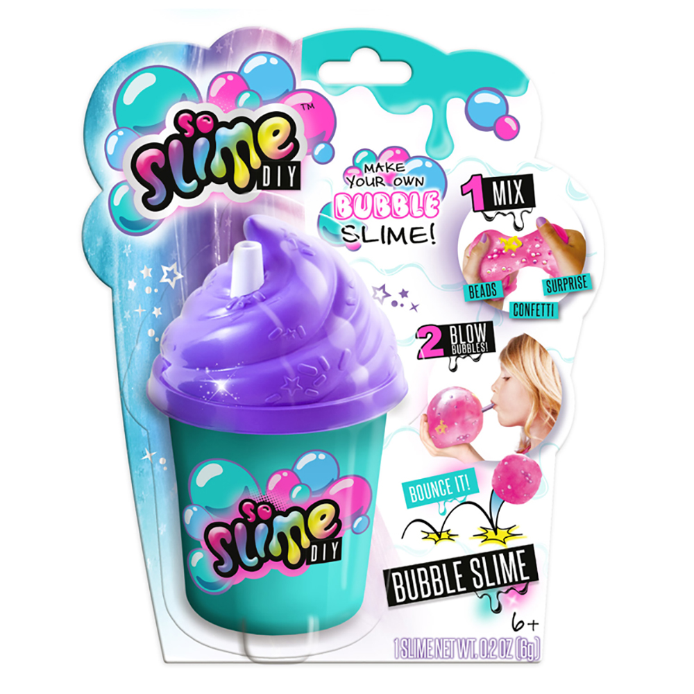 So Slime DIY - Glu à bulles assortis