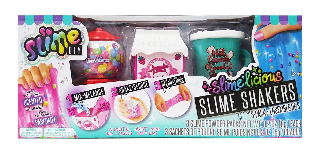 Slime'Licious Ensemble de 3 glus parfumés assortis