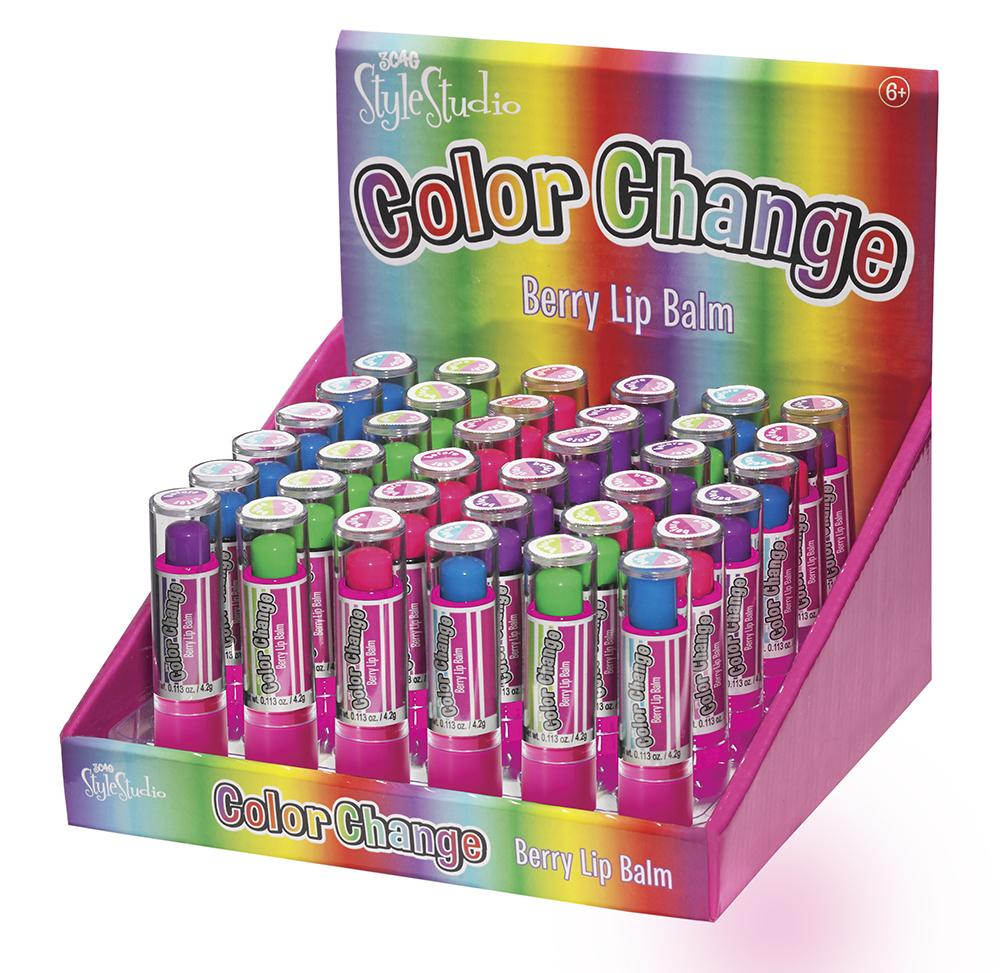 3C4G- Baume à lèvres changeant de couleur assortis