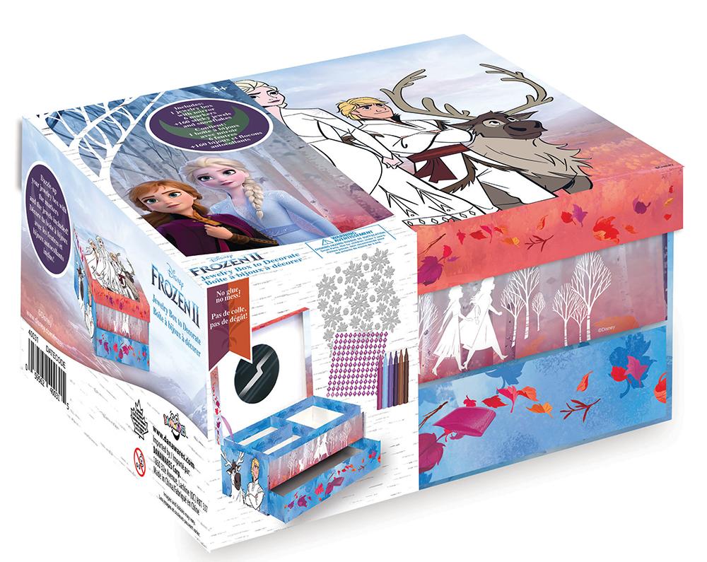 La Reine des neiges 2 - Boîte à bijoux à décorer