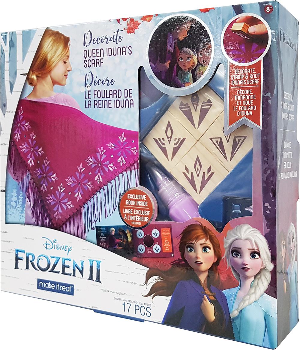 La Reine des neiges 2 - Décore le foulard de la reine Iduna