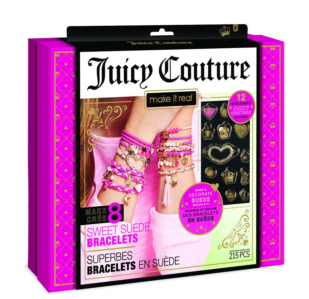 Juicy Couture Superbes bracelets en suède