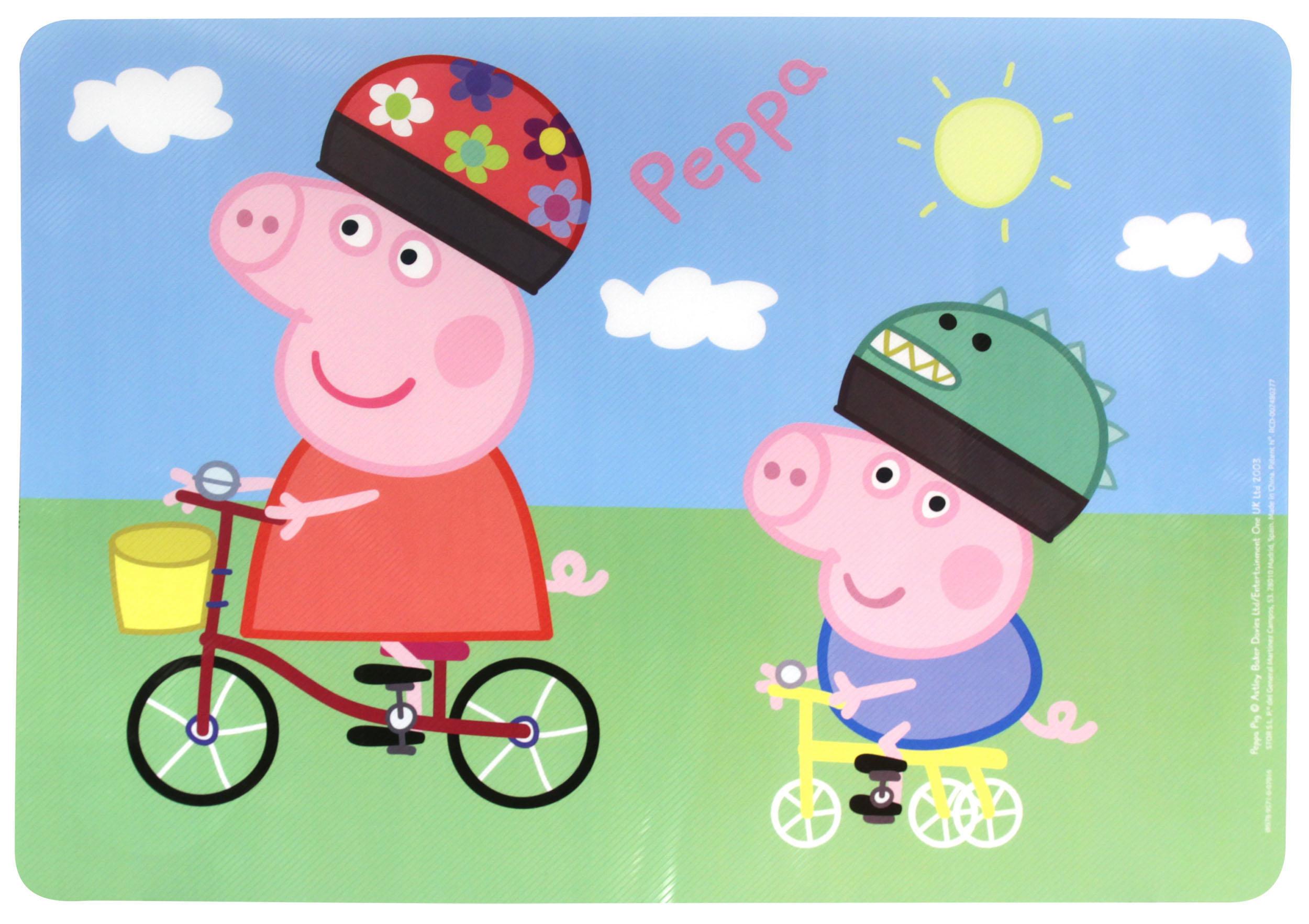 Napperon peppa pig club jouet achat de jeux et jouets - Fauteuil peppa pig jouet club ...