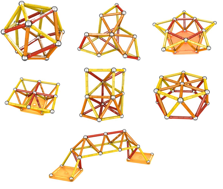 Geomag - Ensemble magnétique Color 64 pièces