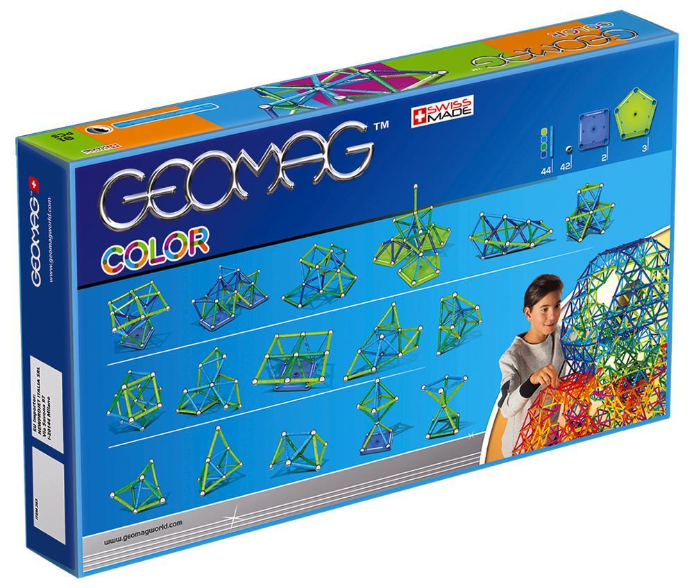 Geomag - Ensemble magnétique Color 91 pièces