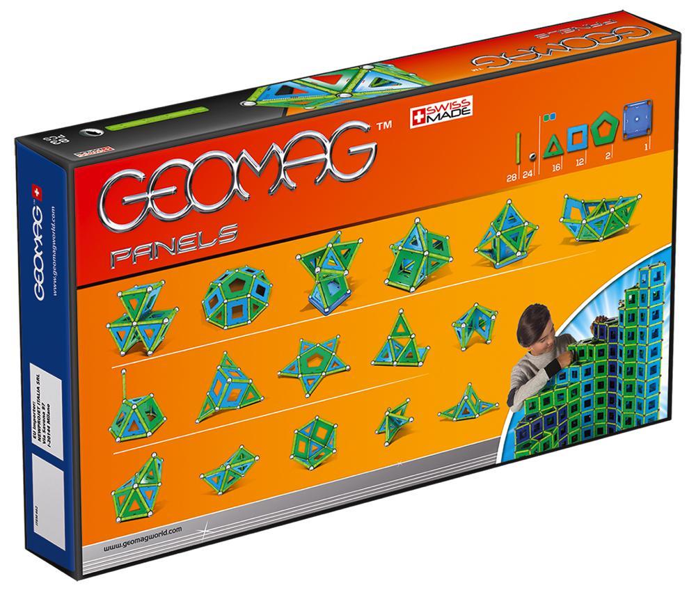 Geomag - Panels magnétiques 83 pièces